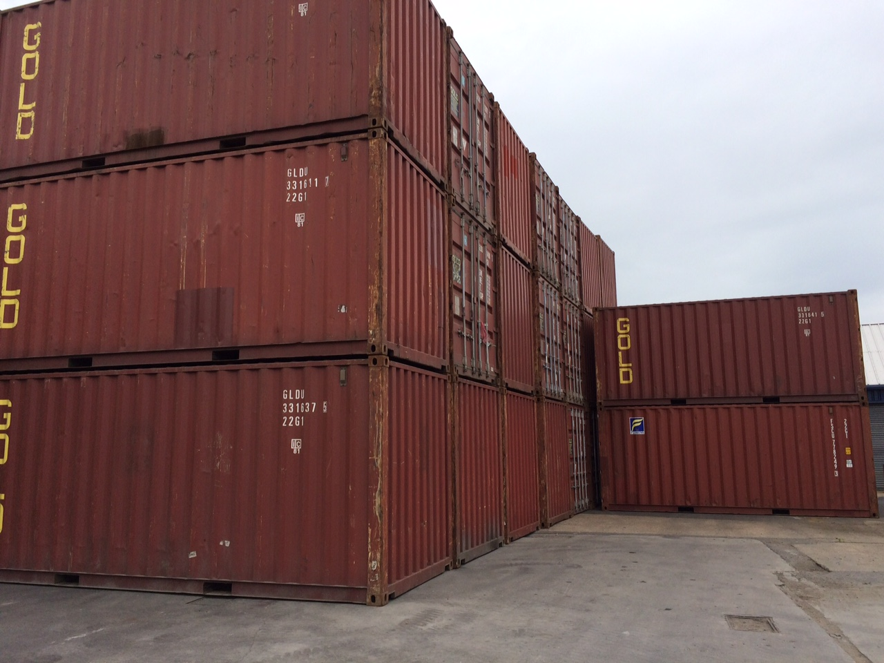 Used 20ft Storage Container For Sale From Only 1225 & Used Storage Container - Listitdallas