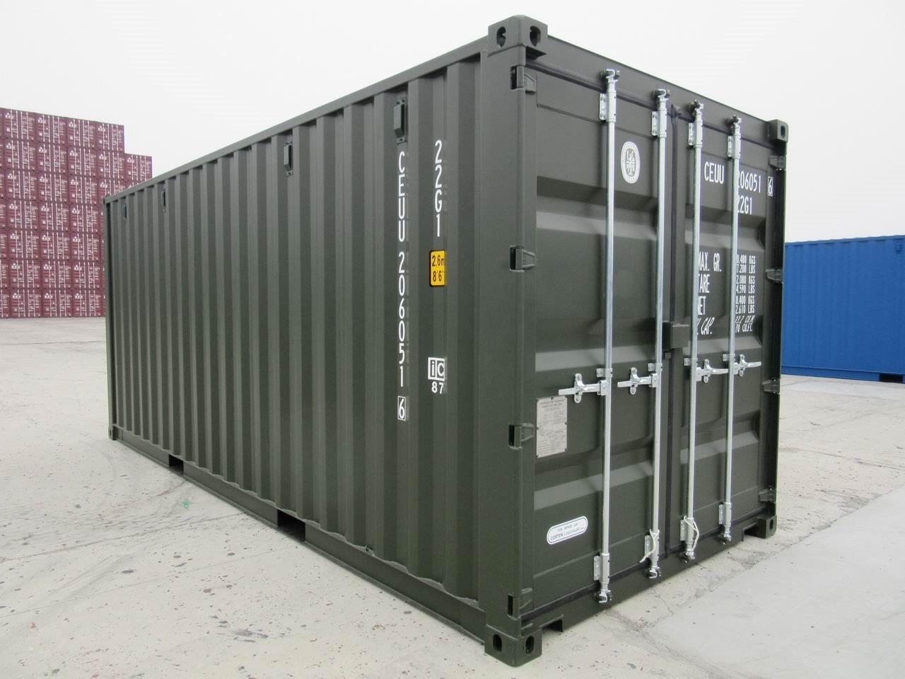 New 20ft Storage Container for Sale Only 1845 Delivered